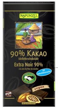 Bitterschokolade 90% Kakao