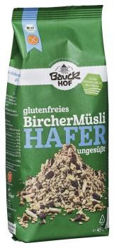 Hafermüsli Bircher ungesüßt 450 g glutenfrei