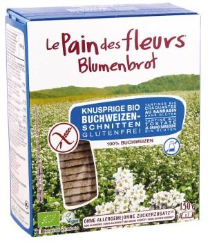 Blumenbrot Buchweizen ohne Zucker 150 g glutenfrei