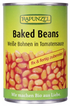 Baked Beans - weiße Bohnen in Tomatensauce