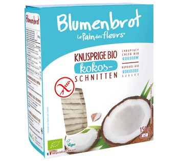 Blumenbrot Kokos 150 g glutenfrei
