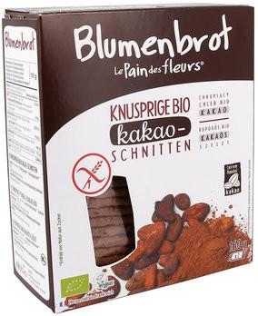 Blumenbrot Kakao 160 g glutenfrei