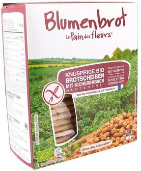 Blumenbrot Kichererbsen 150 g glutenfrei