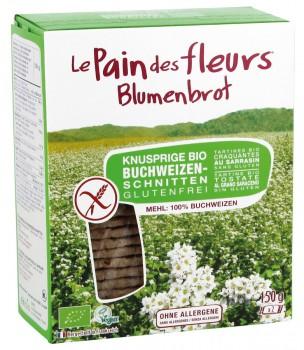 Blumenbrot Buchweizen 150 g glutenfrei
