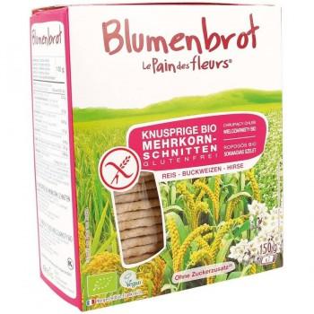 Blumenbrot Mehrkorn 150 g glutenfrei